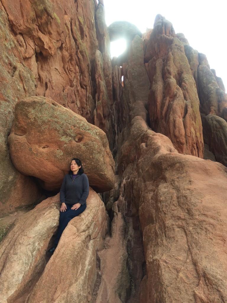 Ursula Nature Retreat Leader Rock